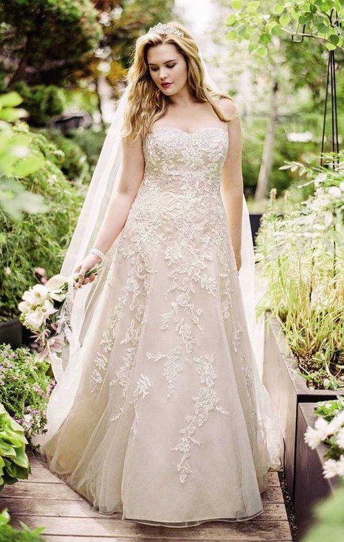 100 Gorgeous Plussize Wedding Dresses Mit Bildern