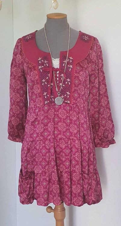 100 Seide Kleid/Tunika Von Odd Molly Kaufen Auf Ricardo
