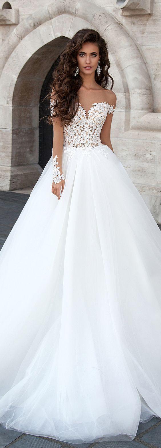 100 Stunning Long Sleeve Wedding Dresses Mit Bildern