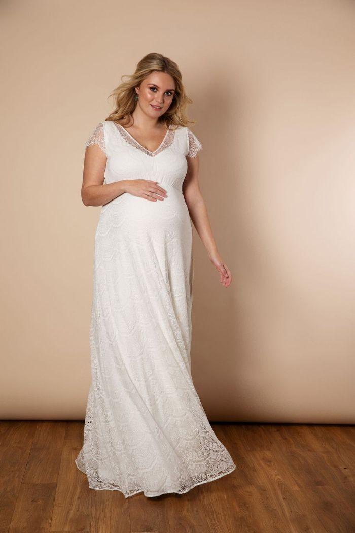 1001  Ideen Für Moderne Brautkleider Für Schwangere