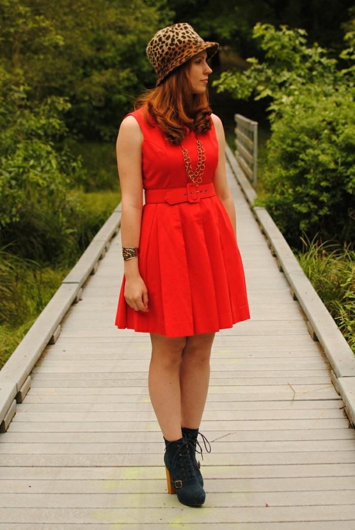 1001 Ideen Für Rotes Kleid  Welche Schuhe Zu Wählen