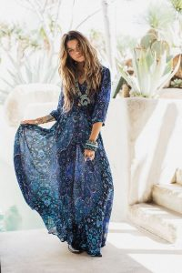 1001  Visions Uniques Avec Le Style Bohème Chic  Mode
