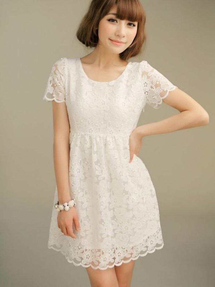 105 Verblüffende Ideen Für Weißes Kleid  Archzine