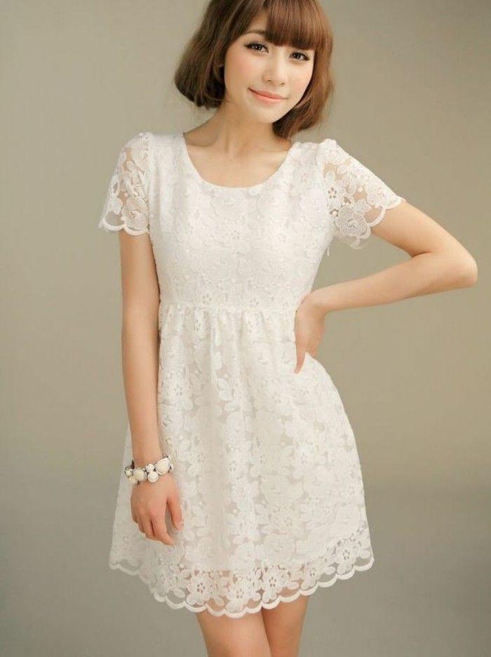 105 Verblüffende Ideen Für Weißes Kleid  Weiße Kleider