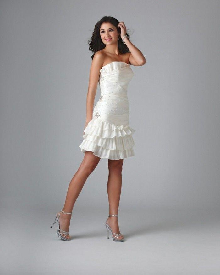 105 Verblüffende Ideen Für Weißes Kleid  Weißes