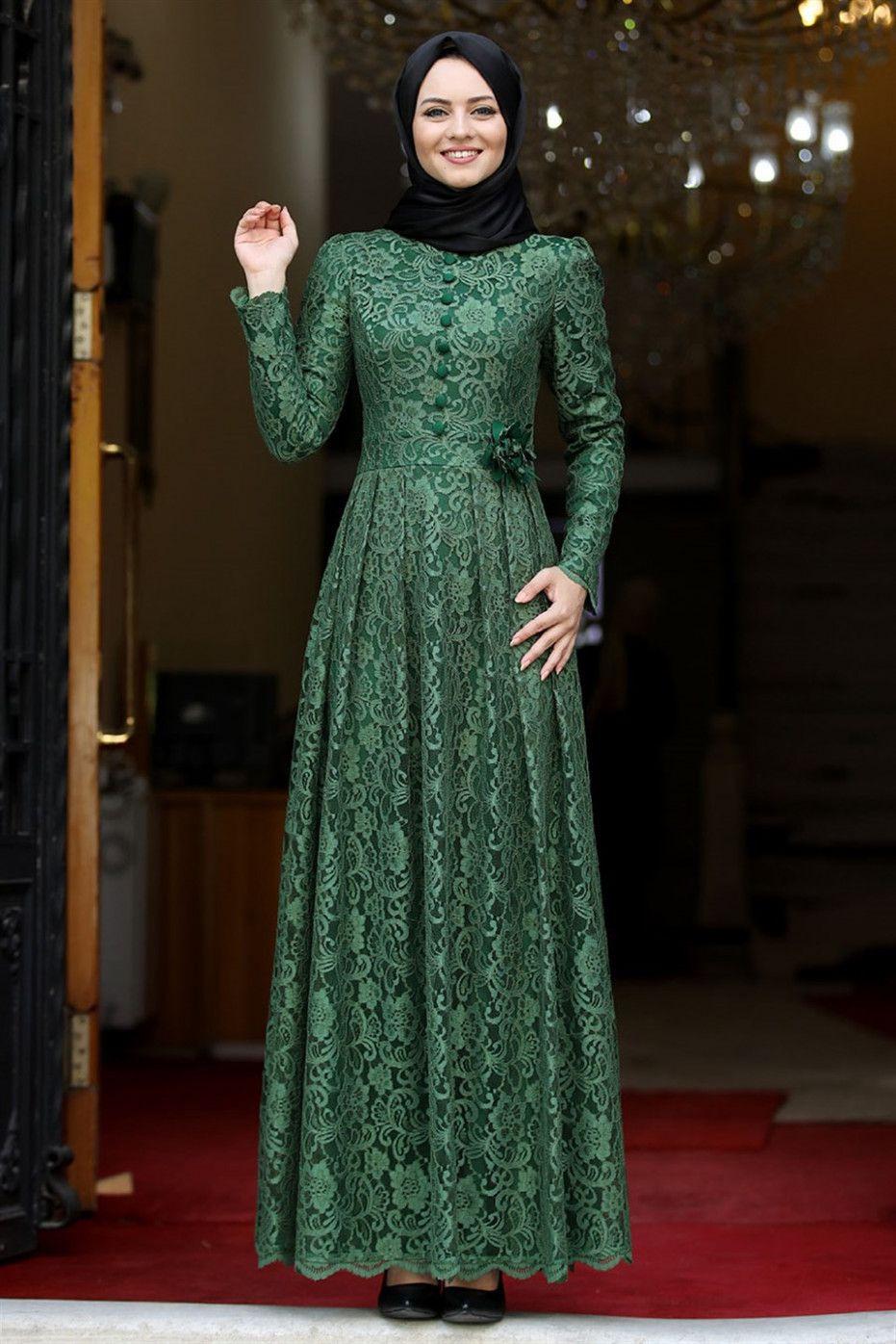11 Kleid Spitze Grün In 2020  Kleid Spitze Kleider