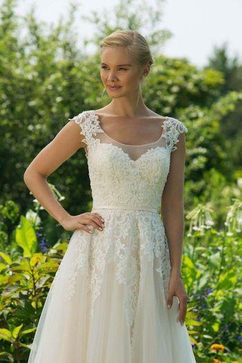 11034  Brautmode Grüne Hochzeitskleider Kleid Hochzeit