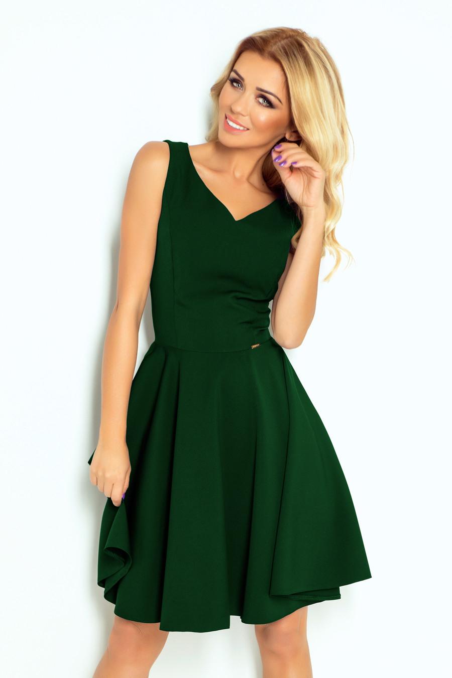 11410 Ausgestelltes Kleid  Herzförmiger Ausschnitt