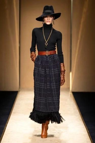 13 Kleider Mode Winter 2020 Stil  Designerkleidern