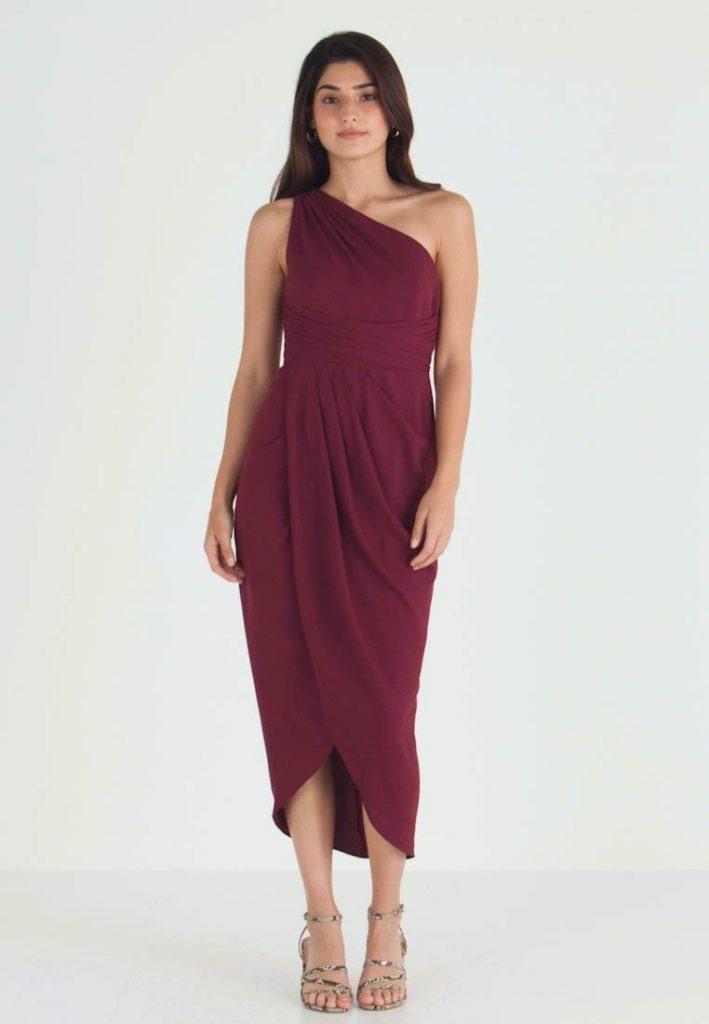 13 Wunderbar Wal G Abendkleid Bordeaux Vertrieb  Abendkleid