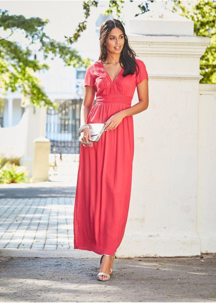 14 Maxi Abendkleider Mit Ärmel In 2020  Abendkleid Maxi