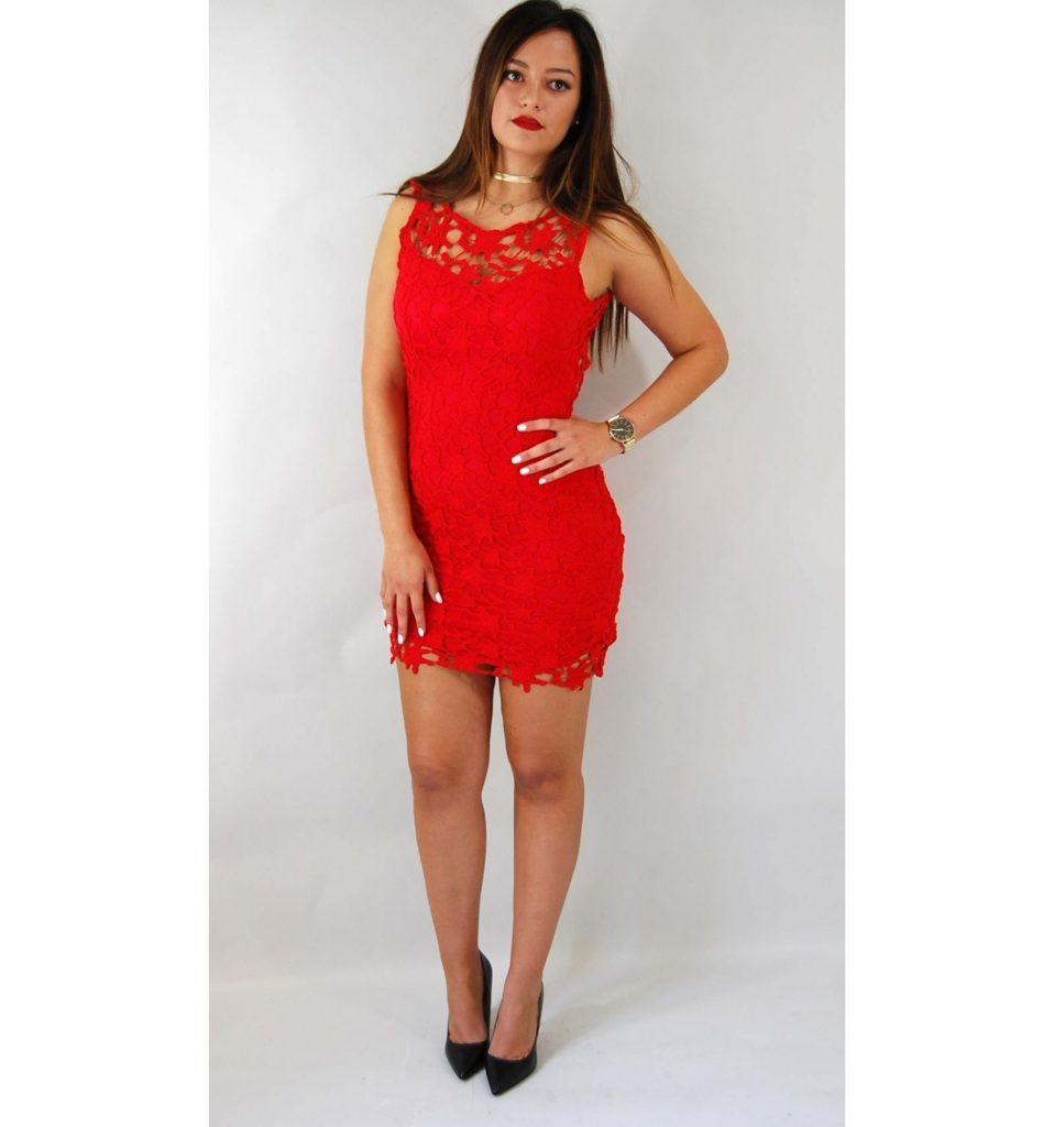 15 Coolste Rotes Enges Kleid Stylish  Abendkleid