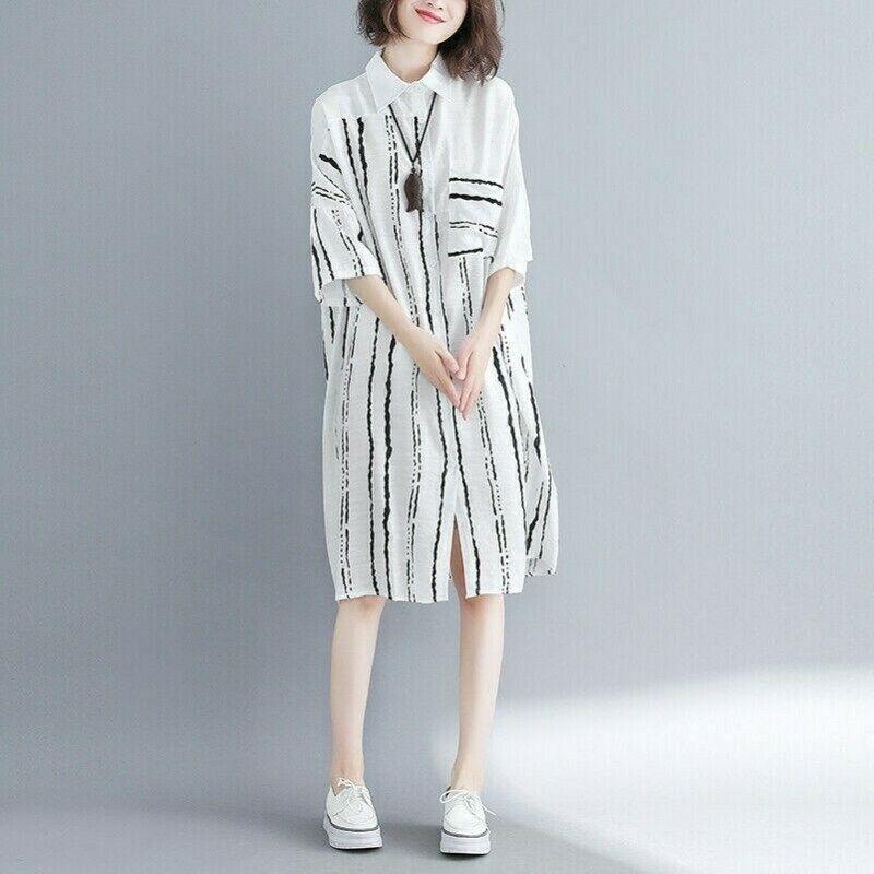 15 Kleid Gestreift Lang Mode  Givil Lardo