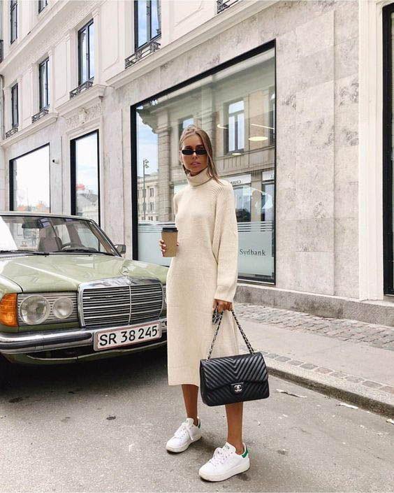 15 Langarm Kleider Für Den Herbst  Street Style Ii  15