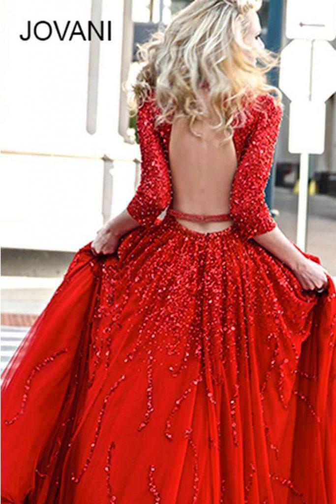 15 Schön Rotes Kleid Henna Abend Spezialgebiet  Abendkleid