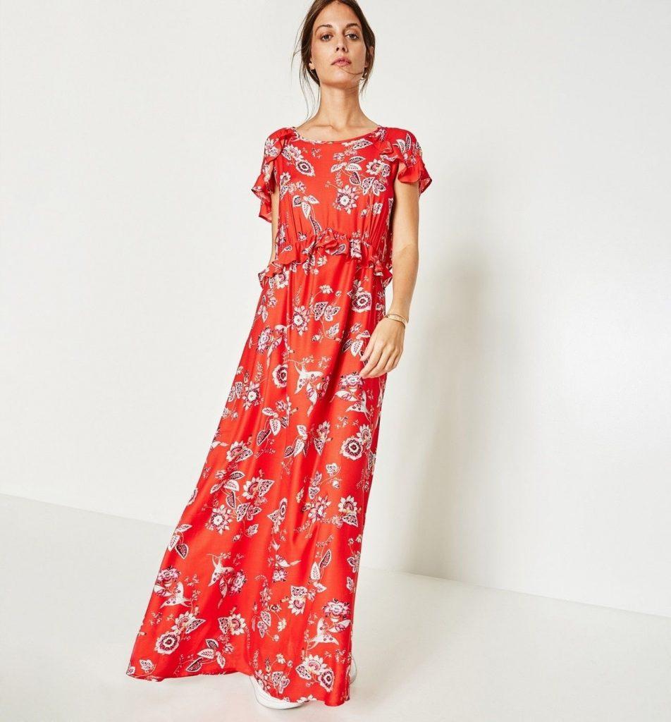 17 Einfach Sommerkleider Damen Lang Bester Preis  Abendkleid