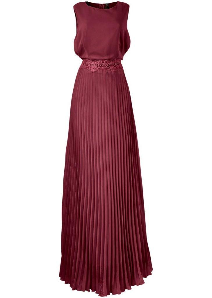 17 Einzigartig Bordeaux Kleid Spitze Bester Preis  Abendkleid