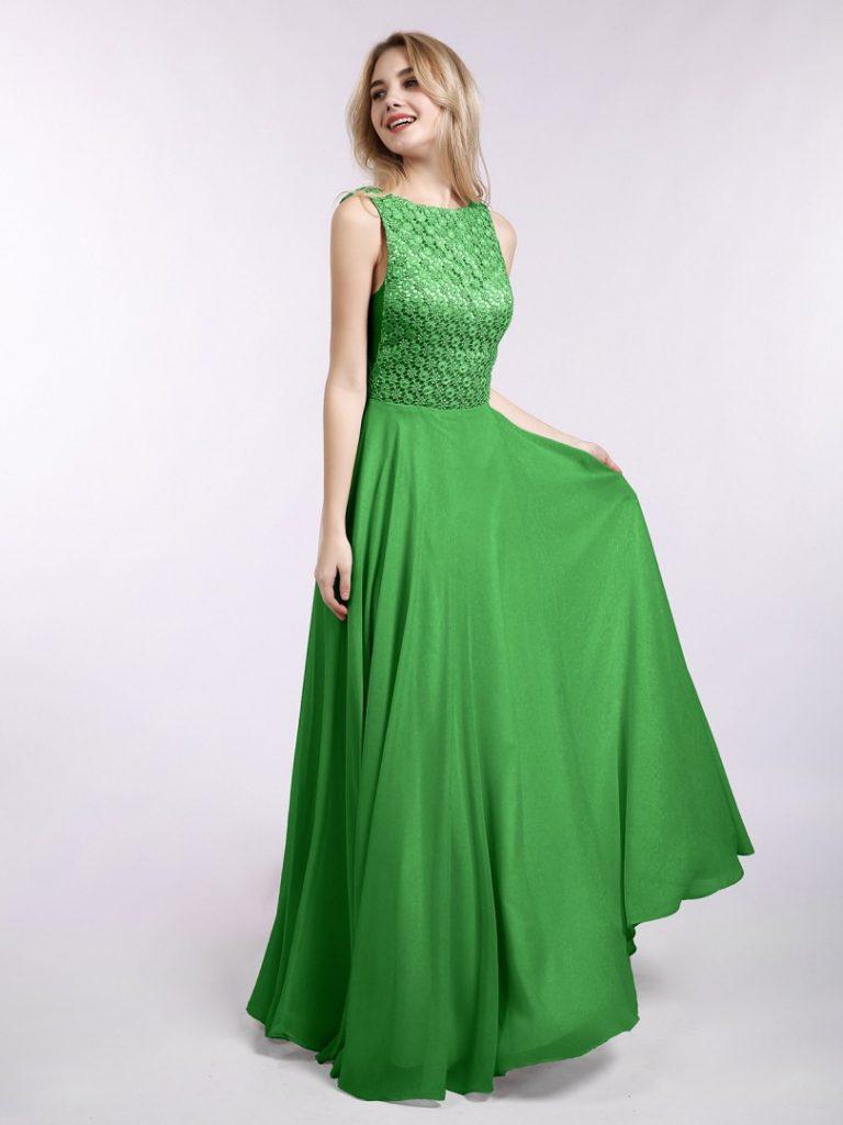 17 Schön Kleid Lang Grün Spezialgebiet  Abendkleid