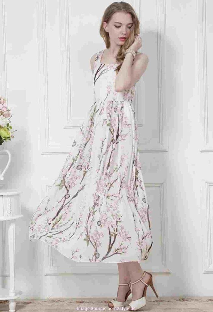 17 Spektakulär Midi Kleider Festlich Design  Abendkleid
