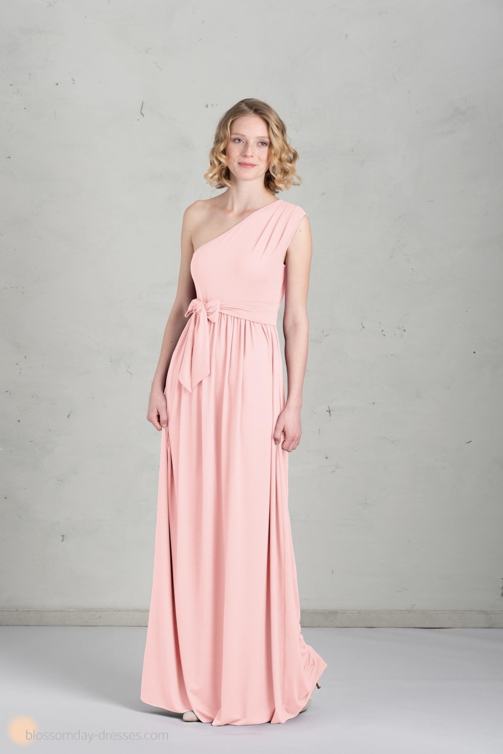 17 Wunderbar Kleid Lang Altrosa Galerie  Abendkleid