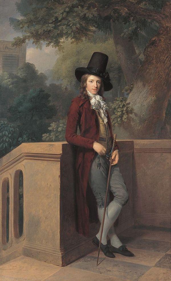 1790 Jfa Tischbein Nicolas Châtelain Im Garten