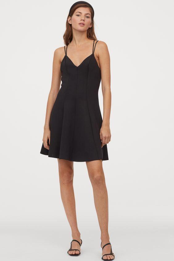 18 Kleid Schwarz H M Modell  Givil Lardo