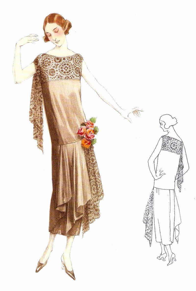1922 Fashion Dress In 2019  20Er Mode 20Er Jahre Kleider