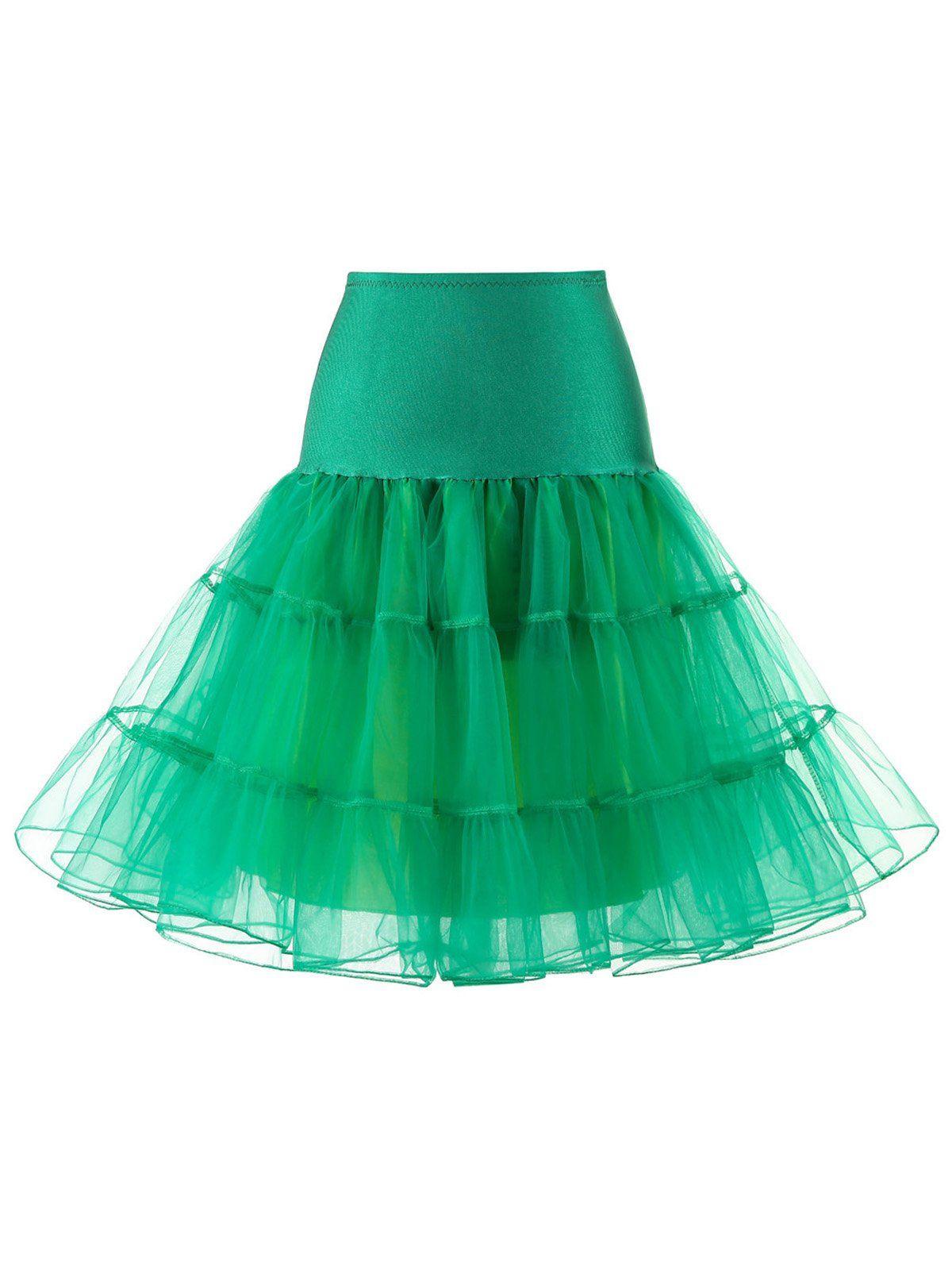 1950Er Petticoat Tutu Krinoline Unterrock  Unterrock