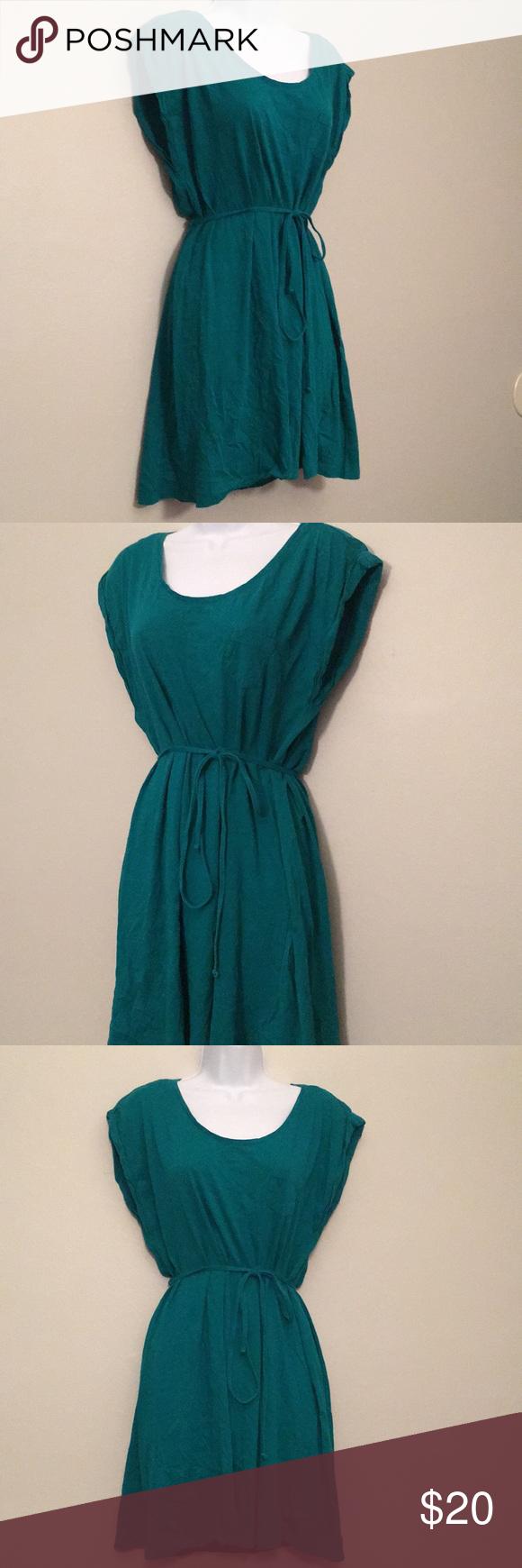 2 For 20 Hm  Tshirt Dress  Green Tshirt Dress Shirt
