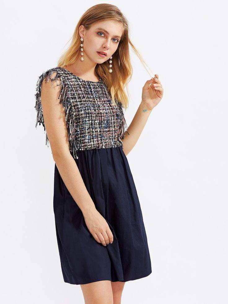 2 In 1 Ärmeloses Kleid  German Sheinsheinside  Kleider