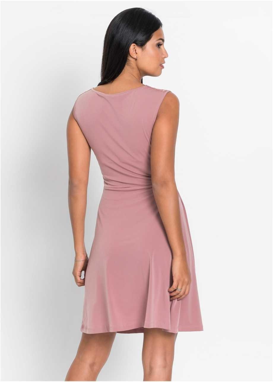 20 Ausgezeichnet Altrosa Kleid Mit Spitze Galerie  Abendkleid