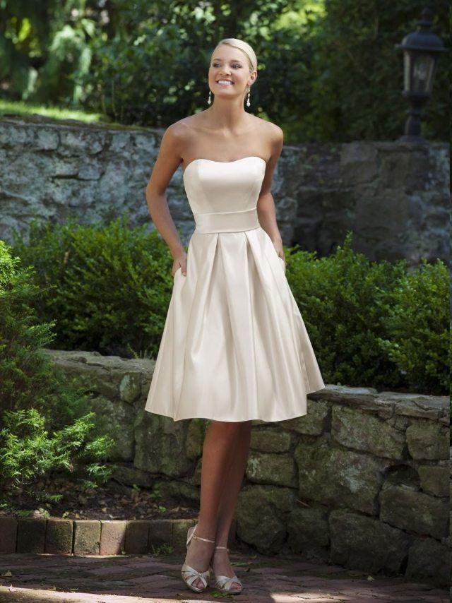 20 Elegante Trägerlose Brautkleider Für Eine Traumhochzeit