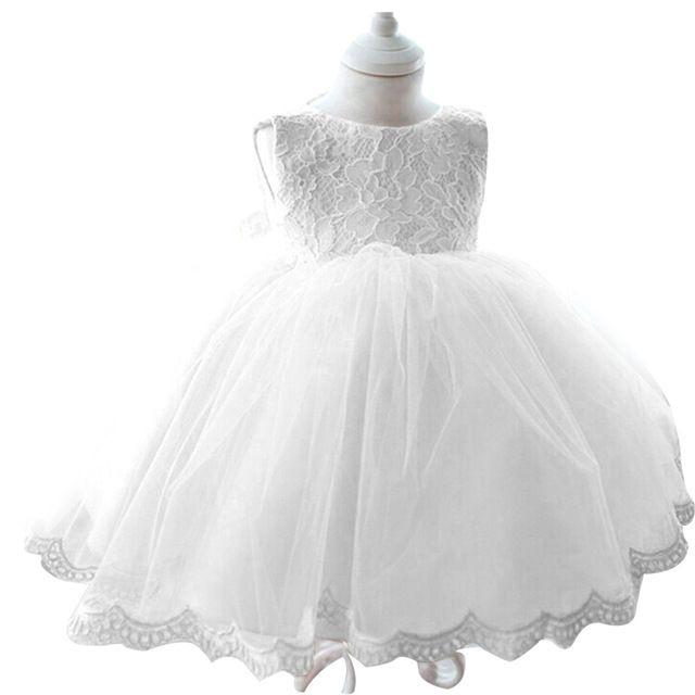 2015 Baby Mädchen Taufe Kleid Prinzessin Tutu Hochzeit