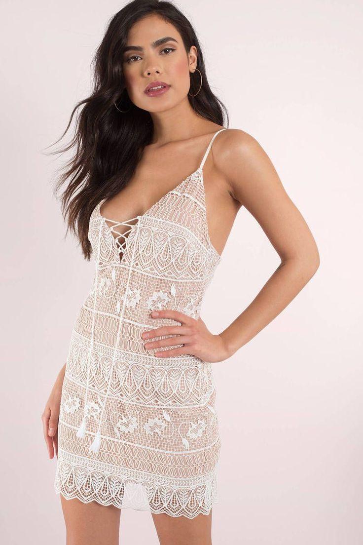 2019 Kurze Und Stilvolle Weiße Festliche Kleider
