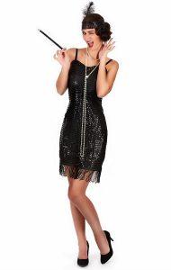 20Er Jahre Charleston Kleid  Kostüm Für Damen Günstig Kaufen
