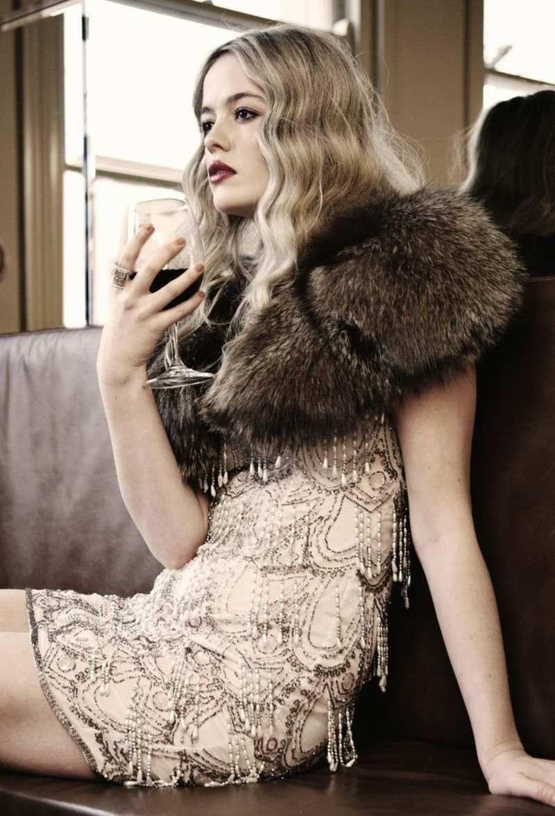 20Er Jahre Mode Männer Und Frauen  Von Gatsby Inspirierte