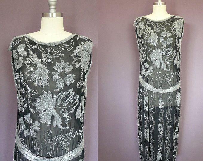 20Er Jahre Perlen Flapper Kleid  Flapperkleider Kleider