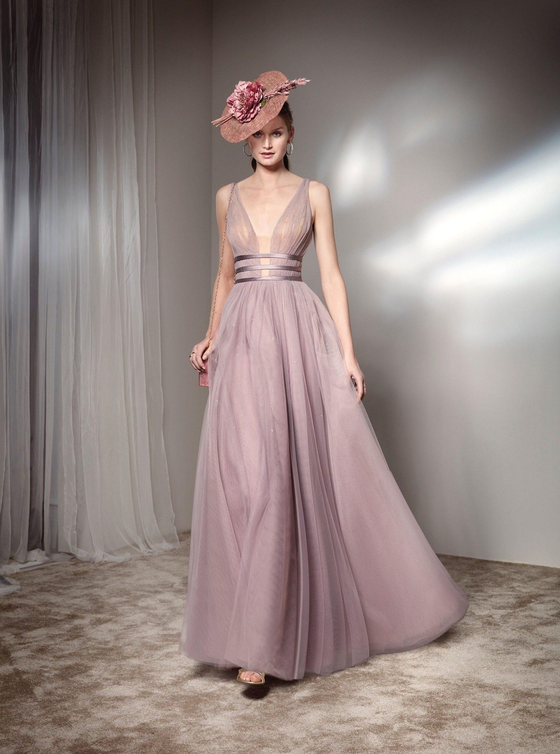 23 Kleid Hochzeitsgast V Ausschnitt Bild  Givil Lardo