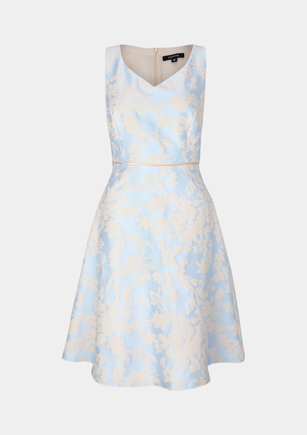 24 Hellblaues Kleid Von Comma  Milan Ray Filmsammlung