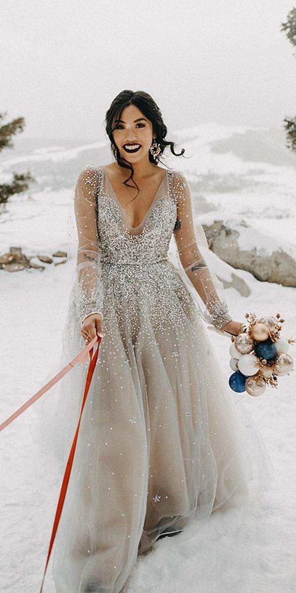 24Winterhochzeitskleider  Outfits  Winter