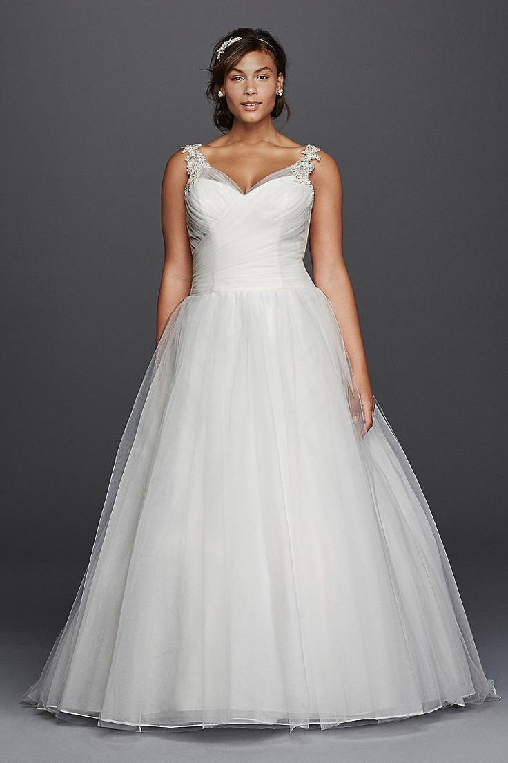 25 › Plus Size Brautkleider  Brautkleider  Davids Braut