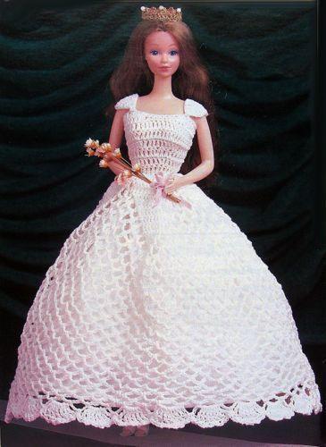 25 Unique Barbie Crochet Gown  Puppenkleidung Häkeln
