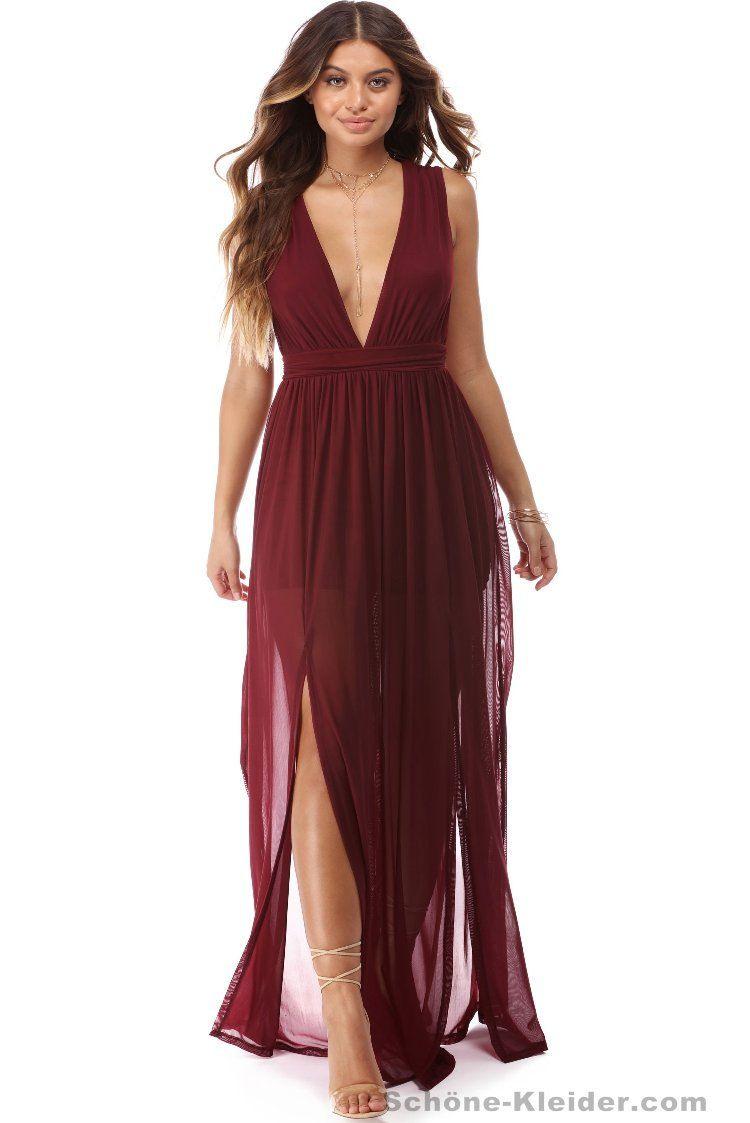 27 Heiße Rotes Abendkleider Lang Schöne Stile  Elegante