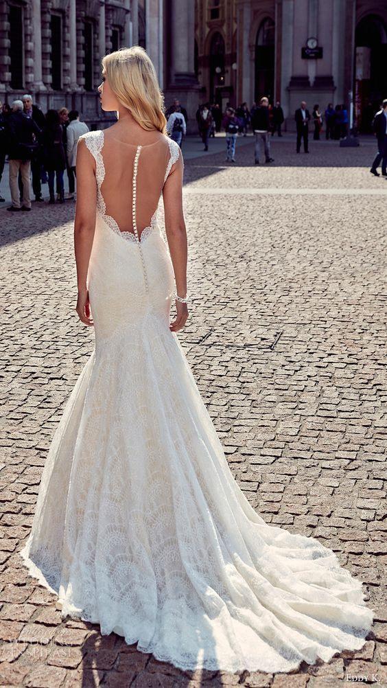 29 Schönsten Illusion Zurück Brautkleider Ammeisten