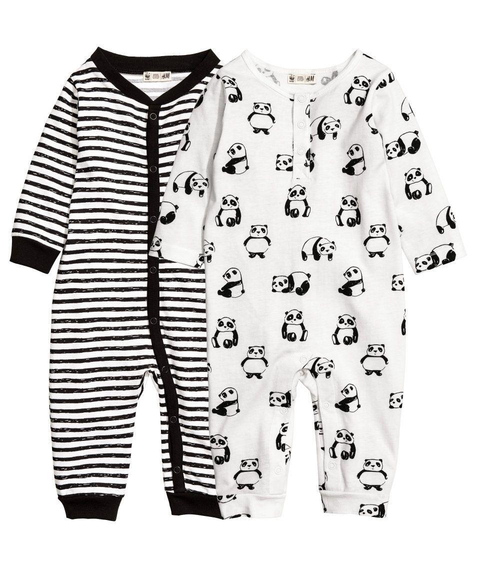 2Erpack Pyjamas  Weiß/Wwf  Kinder  Hm De  Modestil
