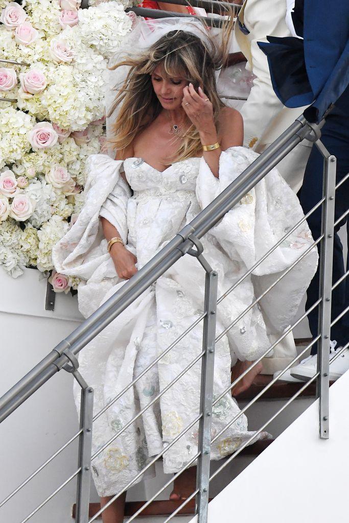 30 Heidi Klum Hochzeitskleid Valentino  Schöne