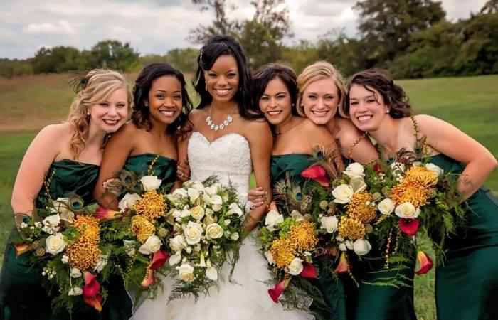 30 Ideen Fürs Kleid Der Brautjungfern Für Eine Herbsthochzeit