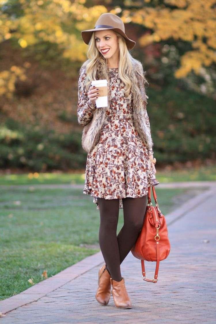 30 Trendige Outfits Mit Fellweste Für Den Herbst