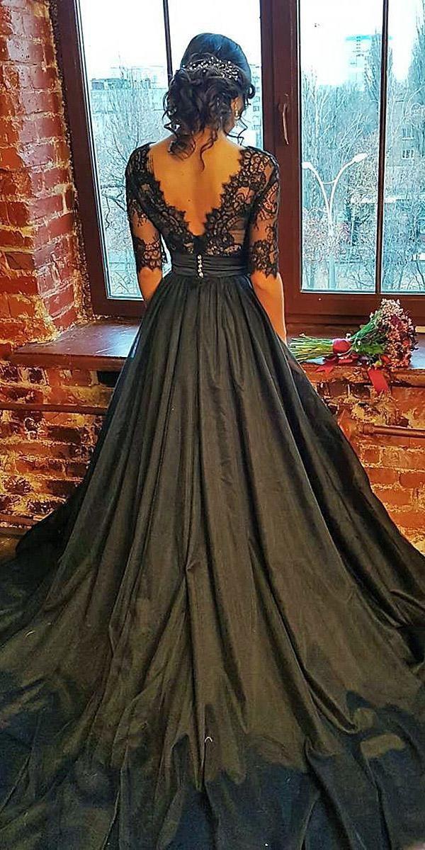 33 Schöne Schwarze Brautkleider Die Ihre Fantasie Schlagen