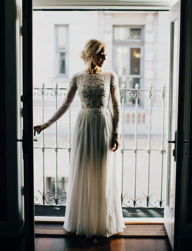 34 Langarm Brautkleider Für Herbst Und Winter Hochzeiten